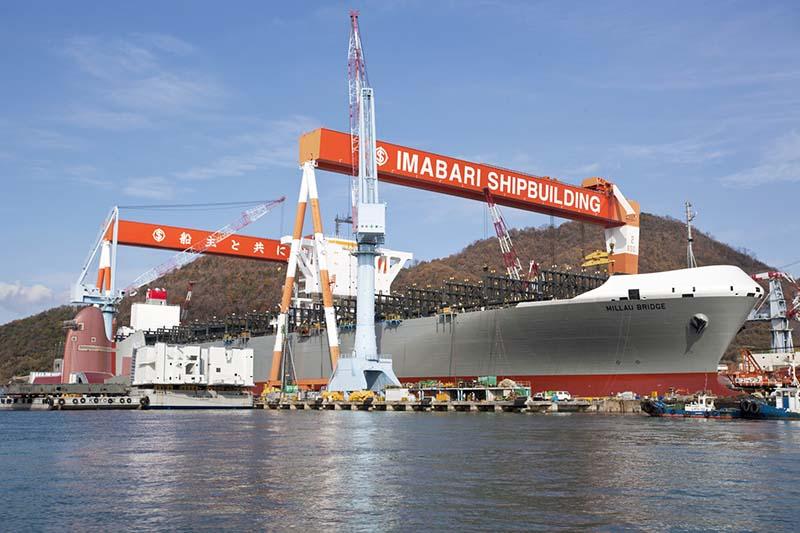 Ngành đóng tàu Nhật Bản hy vọng trở lại vào các phân khúc tàu không phát thải