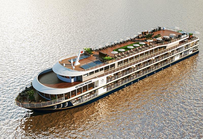 Trải nghiệm du lịch sang trọng với tàu khách Victoria Mekong