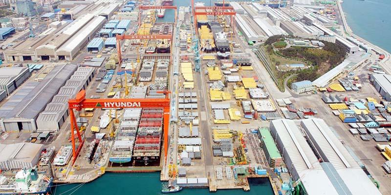 Các công ty đóng tàu Hàn Quốc: 1,6 nghìn tỷ won đơn đặt hàng đóng mới