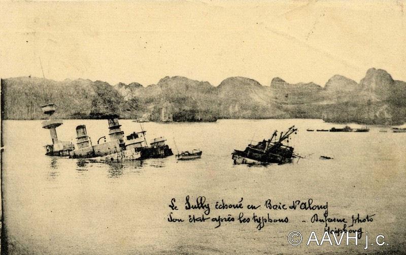 Trở lại với con tàu của Pháp bị đắm trên Vịnh Hạ Long