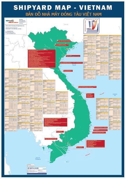 Bản đồ các nhà máy đóng tàu ở Việt Nam: Một công cụ hữu ích sắp trình làng