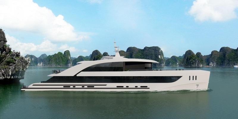 Bổ sung thêm 4 mẫu thiết kế tàu tham quan Vịnh Hạ Long, Bái Tử Long