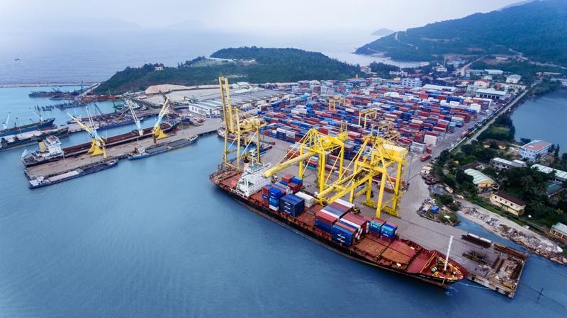 6 tháng, sản lượngg hàng hóa thông qua cảng biển tăng 13%
