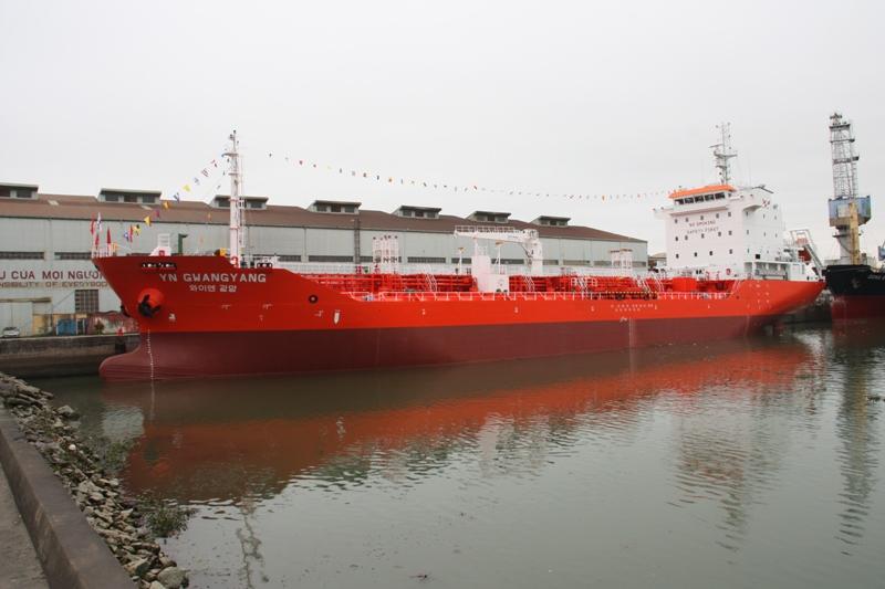 Tàu chở dầu/hóa chất trọng tải 6.500 tấn YN GWANGYANG