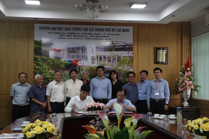 Lễ ký biên bản ghi nhớ hợp tác giữa các thành viên của VISIA