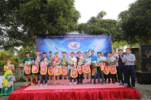 Các chi cục đăng kiểm kỷ niệm 55 năm thành lập Cục Đăng kiểm Việt Nam
