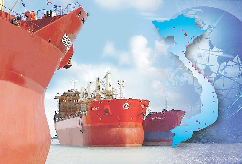 Ổn định và phát triển ngành Công nghiệp tàu thủy Việt Nam