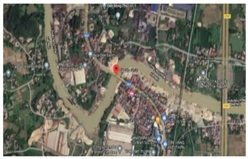 Ứng dụng GIS xác định vị trí tiềm ẩn nguy cơ tai nạn giao thông đường thủy