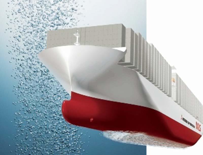Hệ thống bôi trơn không khí của tàu: Tiết kiệm năng lượng, giảm phát thải